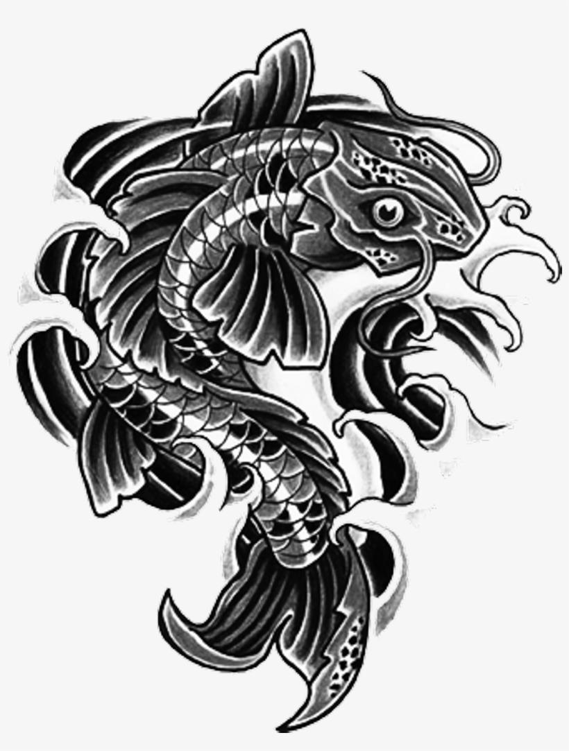 Tattoo Irezumi Fish Blackart Yakuza Ninja Backtattoo Tattoos Png Png Image Transparent Png Free Download On Seekpng Yakuza 0 kazuma kiryu tattoo goro majima, tatto, man holding green katana illustration png clipart. tattoo irezumi fish blackart yakuza