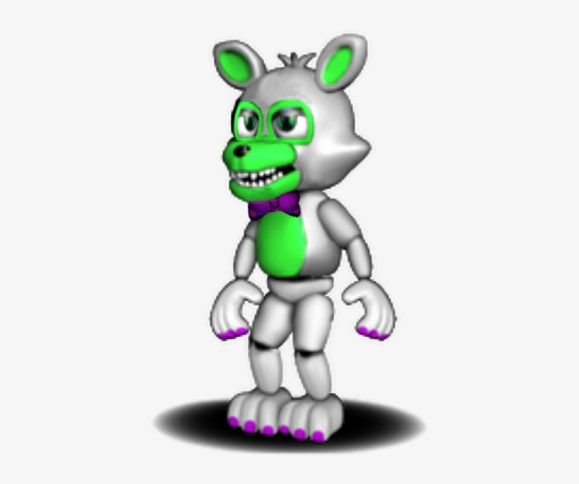 Unwithered Adventure Foxy As Tangle Fnaf World - Five Nights At