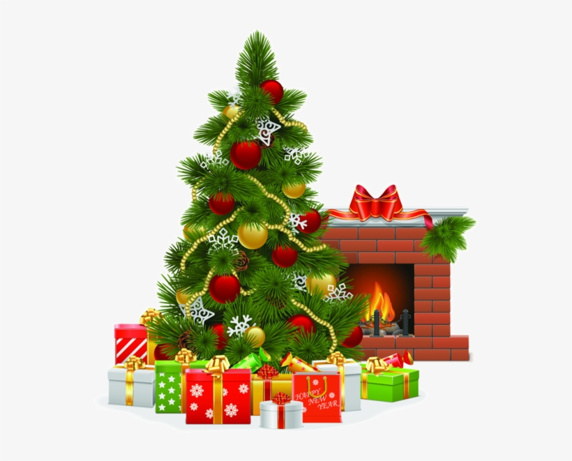 Sapins Noel Christmas Christmas Tree Clipart Merry Christmas Fireplace Clipart Png Image Transparent Png Free Download On Seekpng
