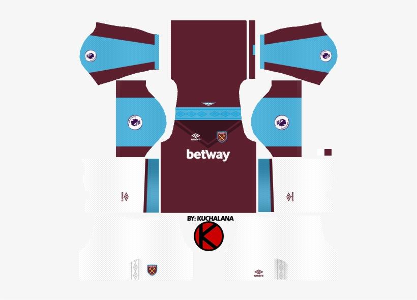 West Ham United Kits 2017/18 - Dream League Soccer 2018 Kits Russia
