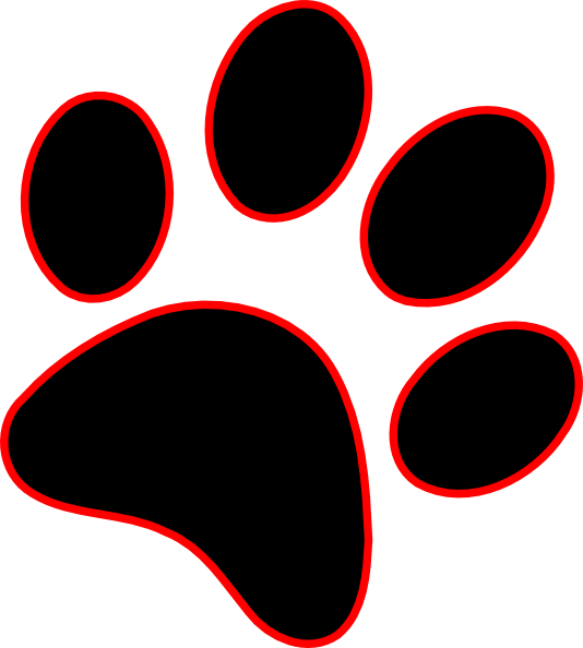 Dog Prints Picture Transparent Stock Techflourish Collections Red And Black Paw Print Full Size Png Download Seekpng Black black and white paw black hair black m black flash black canary. dog prints picture transparent stock