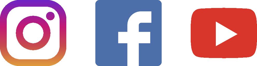 Facebook And Instagram Logos Png Facebook Instagram Youtube Logo Png Full Size Png Download Seekpng