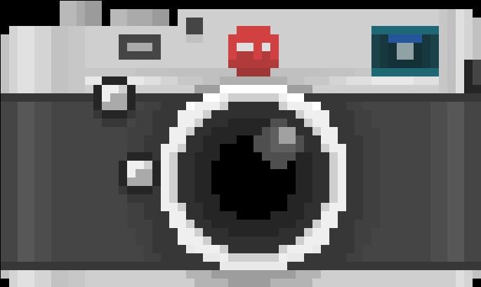 114-1146458_camera-transparent-pixel-art-camera-lens Pixel Art Camera @koolgadgetz.com.info