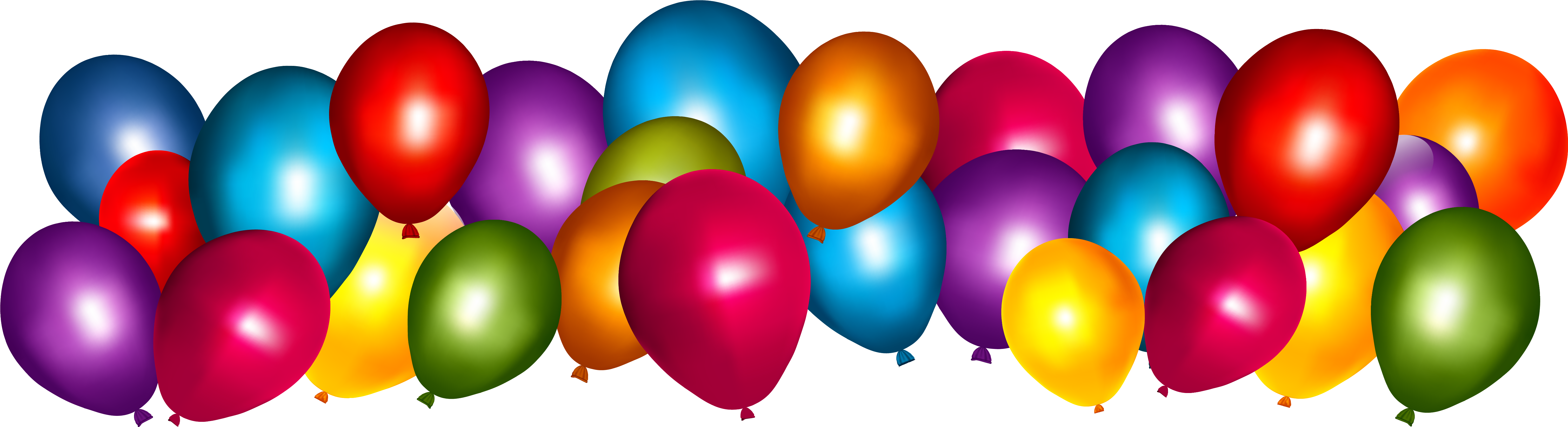Png Colorful Balloons Clipart Balloon Png Full Size Png Download Seekpng