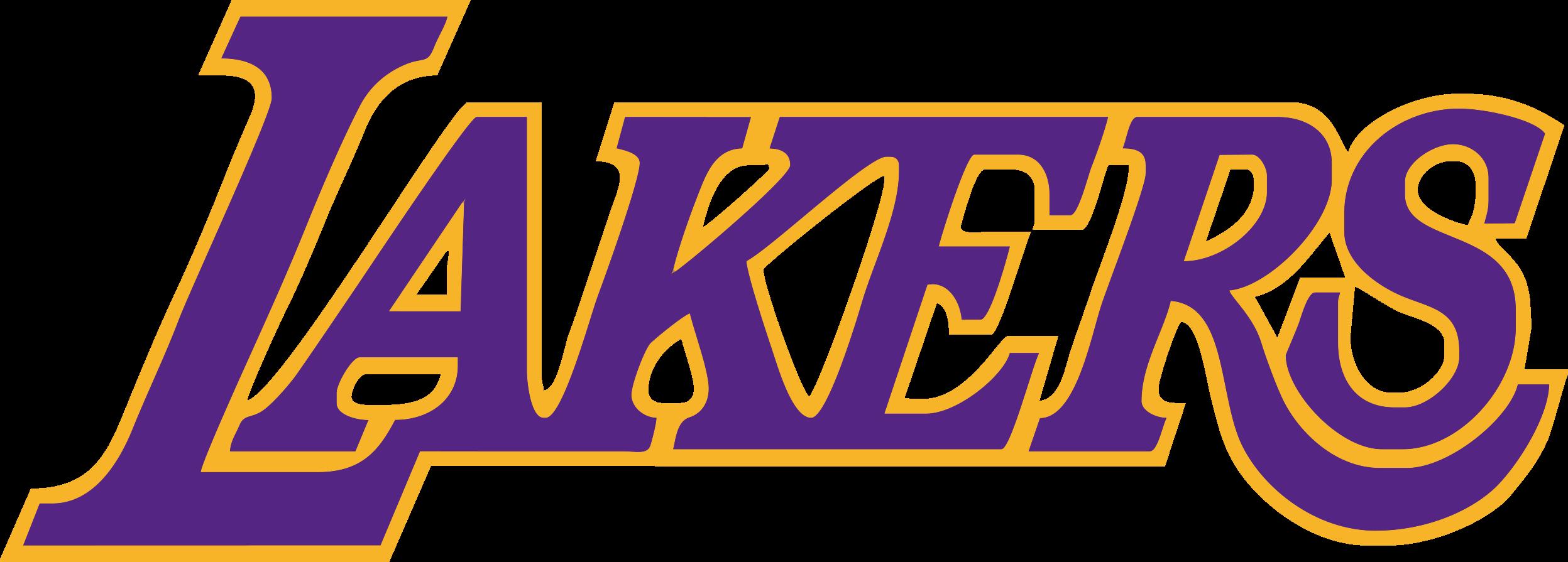 Los Angeles Lakers Logo Font - Lakers Logo (1200x600), Png ...