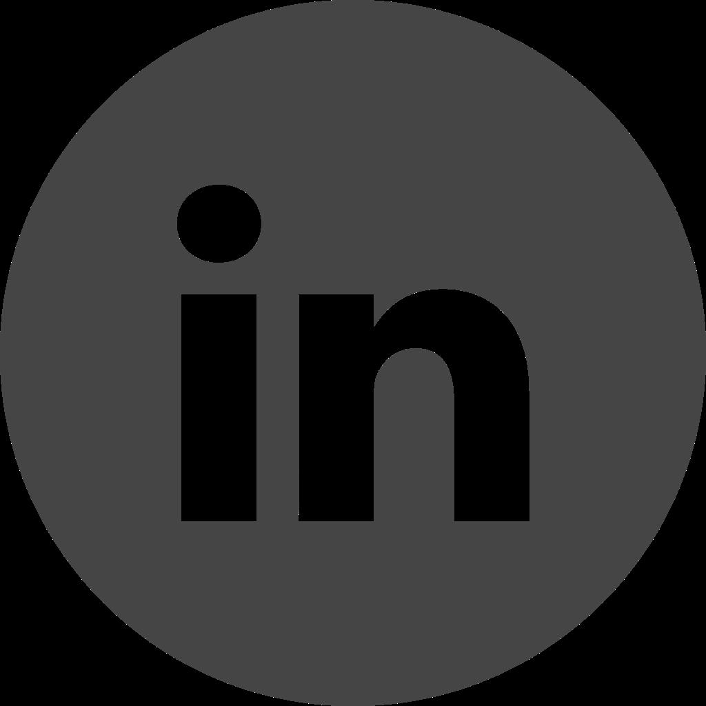 White Linkedin Logo Transparent Background Hedera