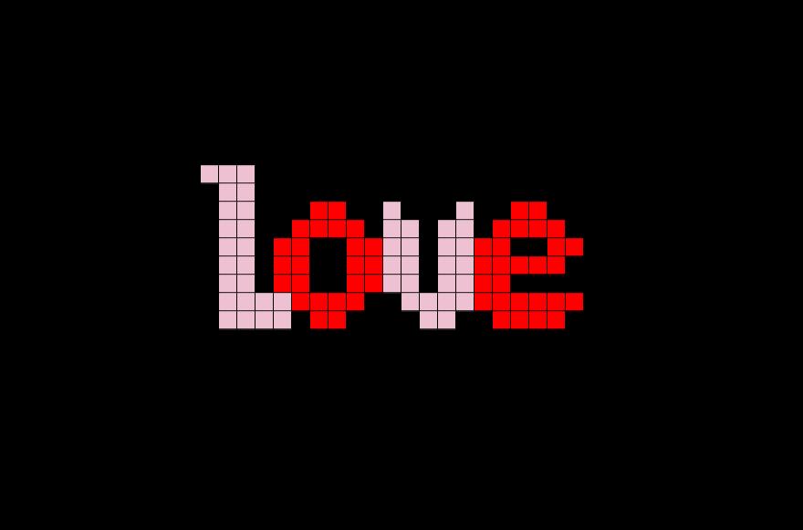 Love Pixel Art Brik King Minecraft Pixel Art Full Size