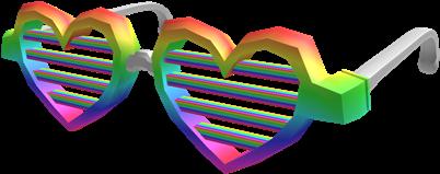 3cba155f10 Rainbow Vision Shutter Shades - Roblox Com Shutter Shades (420x420)