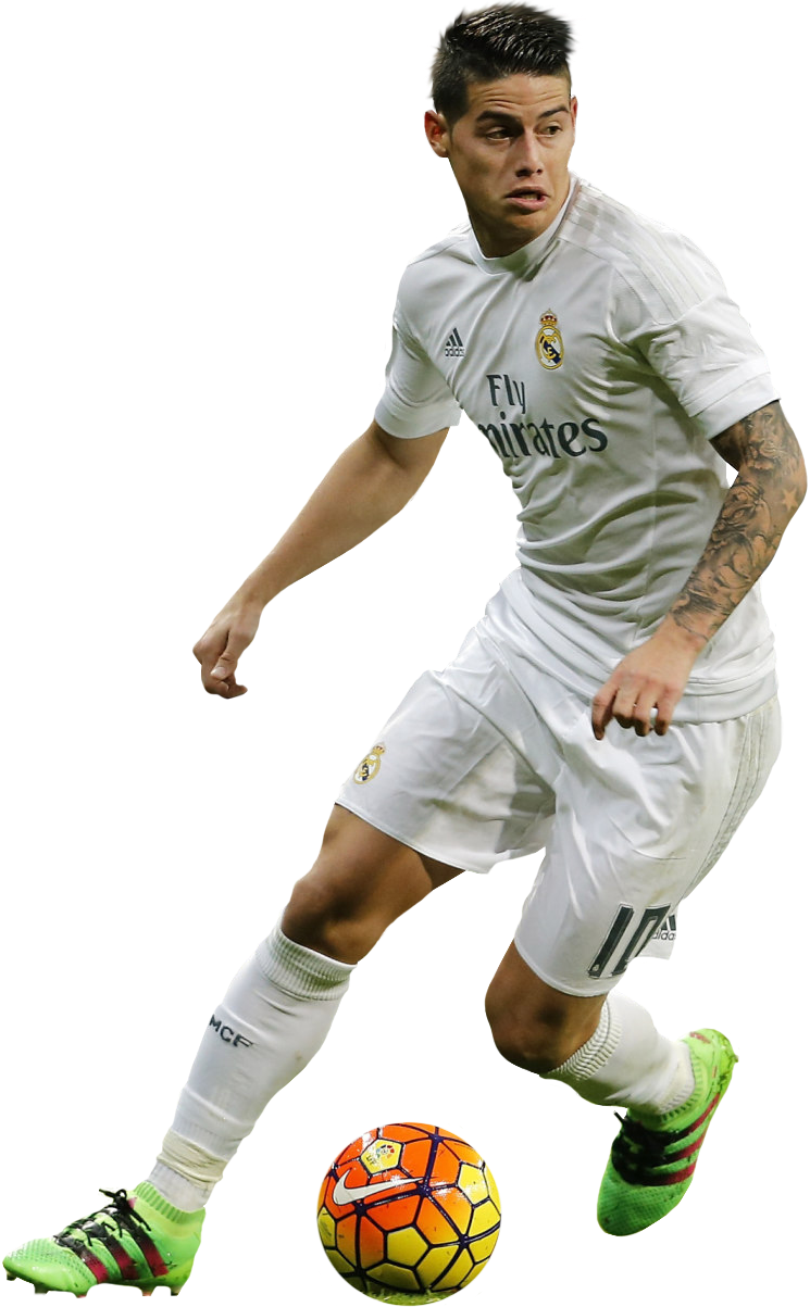 James Rodriguez Real Madrid Player Png Full Size Png Download Seekpng