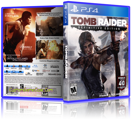 Sony Playstation 4 Ps4 Tomb Raider Definitive Edition Xbox One