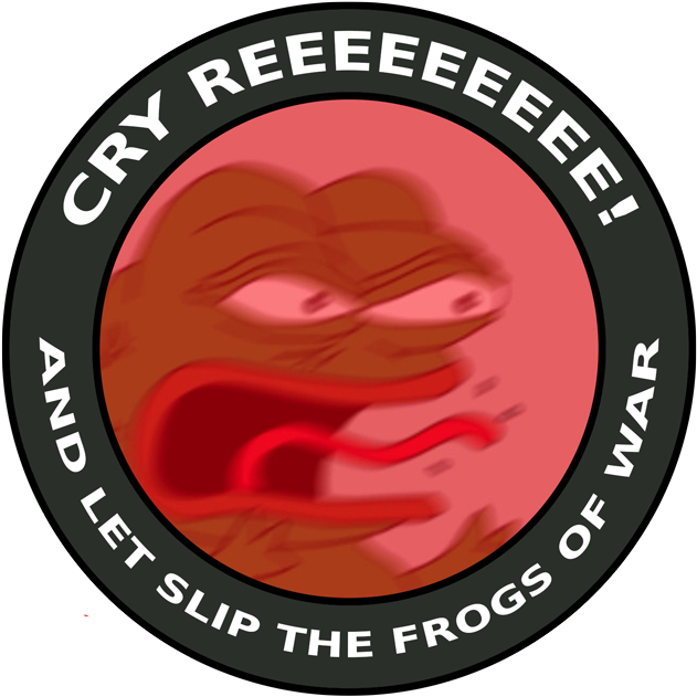 Reeeee Pepe Full Size Png Download Seekpng