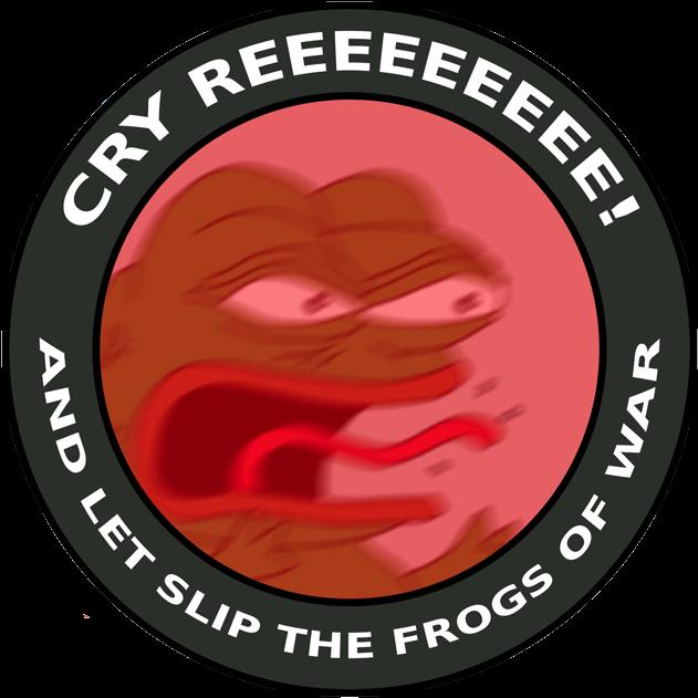 Reeeee Pepe Full Size Png Download Seekpng