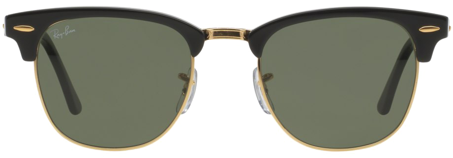 10c3c7b091 Ray Ban Png Clipart Background - Ray-ban Men s Clubmaster Black Sunglasses  - Black Frames