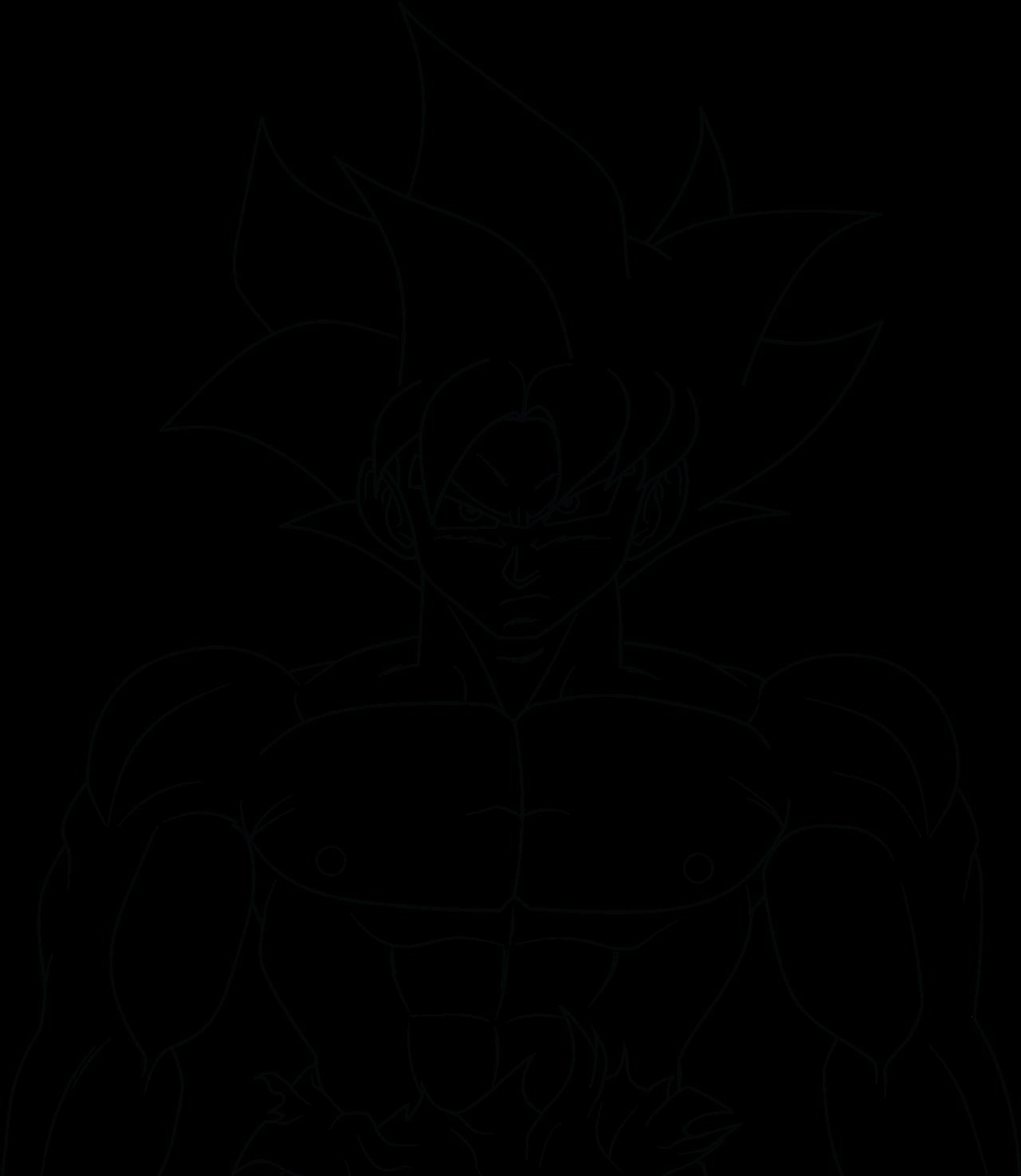 28 Collection Of Ultra Instinct Goku Drawing Easy Goku Ultra Instinct Drawing Full Size Png Download Seekpng