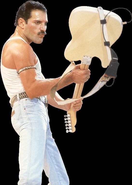 Download Freddie Mercury Guitar - Freddie Mercury En Png ...