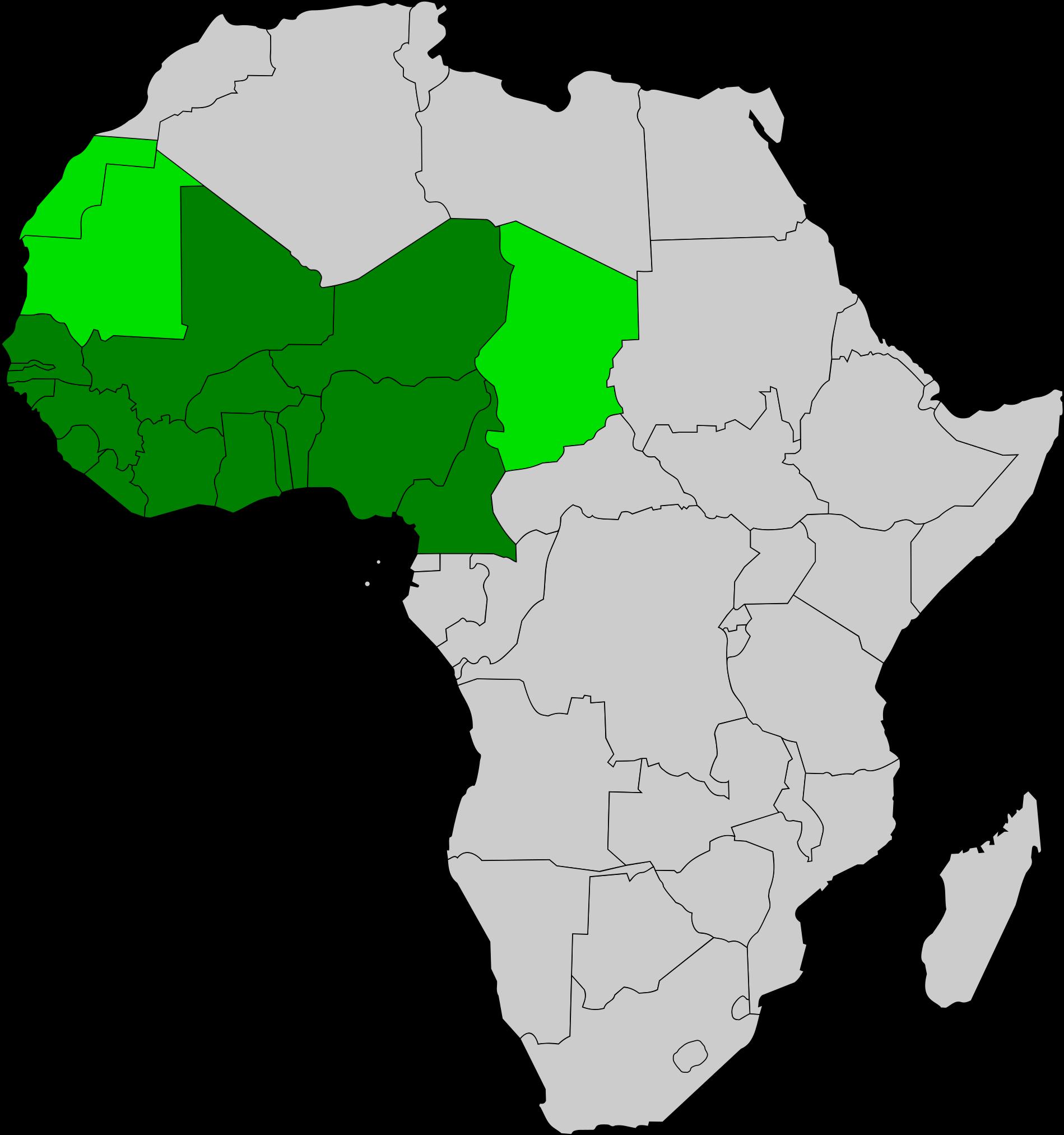 всегда картинки регионы африки возводились