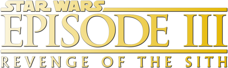 Star Wars Episode Iii Revenge Of The Sith 503cfa5345c8e Star Wars Return Of The Jedi Logo Full Size Png Download Seekpng