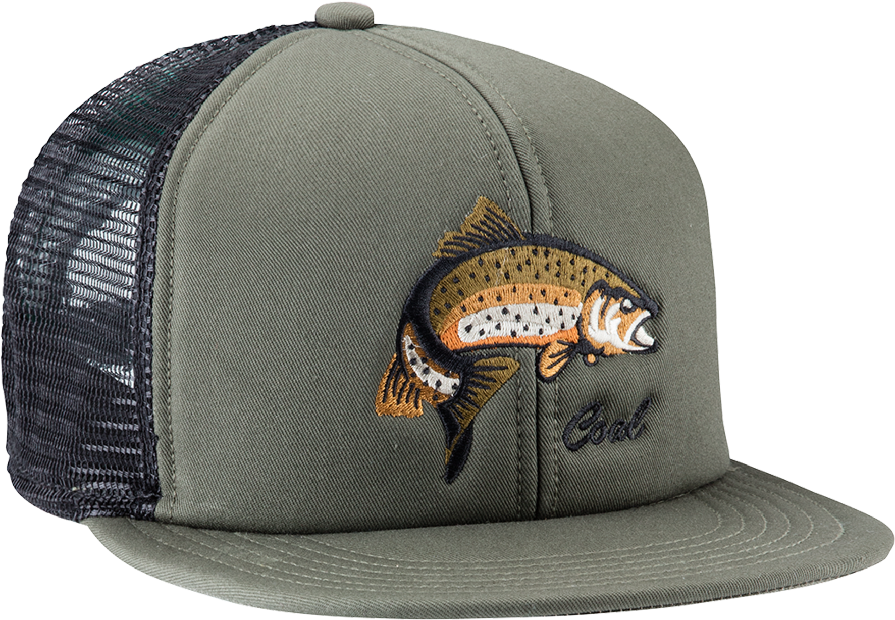 Coal The Wilds Hat Olive - Coal The Wilds Cap (colour  Olive (fish ... 9ea65ab721c