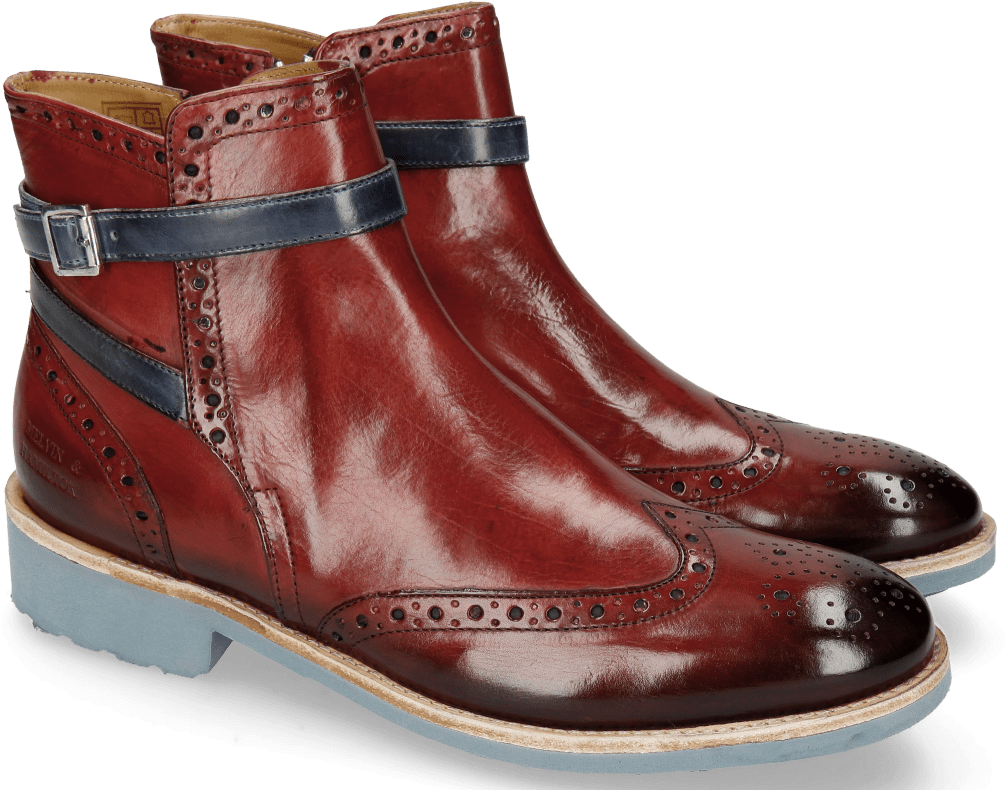 Ankle Boots Amelie 11 Ruby Shade Sky Blue Damen