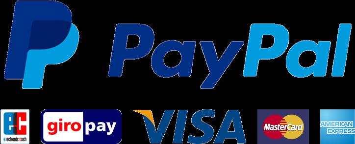 Paypal Logo (781x307), Png Download