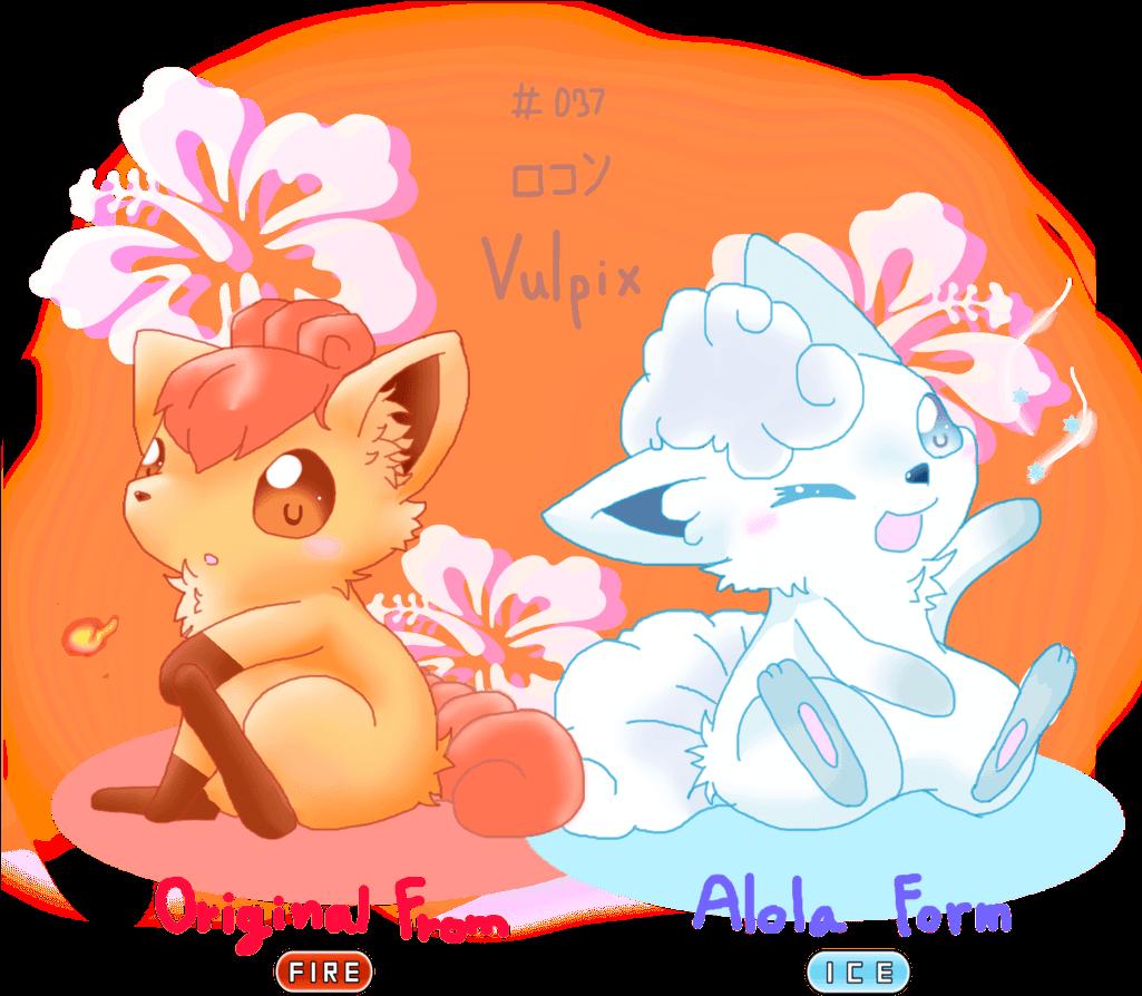Alolan Vulpix Sketch By Mahyohan On Deviantart Pokemon Sun And Moon Fire Vulpix Full Size Png Download Seekpng