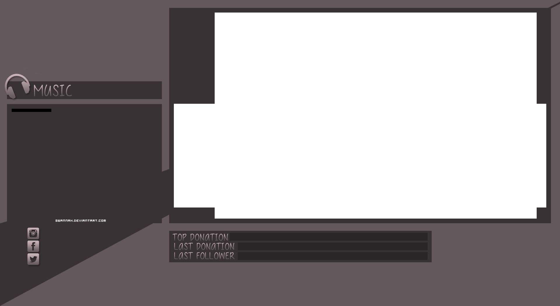Empty Twitch Overlay