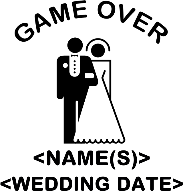 21+ Game Over Wedding Png Wallpapers