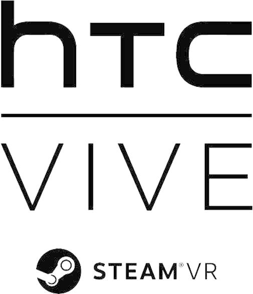 Vive Logo 720 - Htc Vive Steam Vr Logo   Full Size PNG