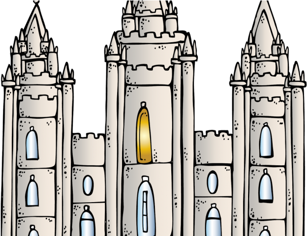 Temple Clipart Mormon Temple Salt Lake Temple Png Full Size Png