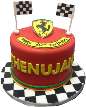 Marvelous Ferrari Cake Birthday Cake Full Size Png Download Seekpng Funny Birthday Cards Online Ioscodamsfinfo