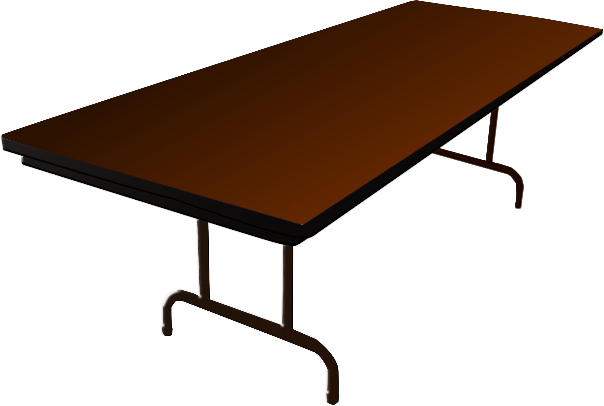 Desk Clipart Long Table Big Table Clip Art Full Size Png Download Seekpng