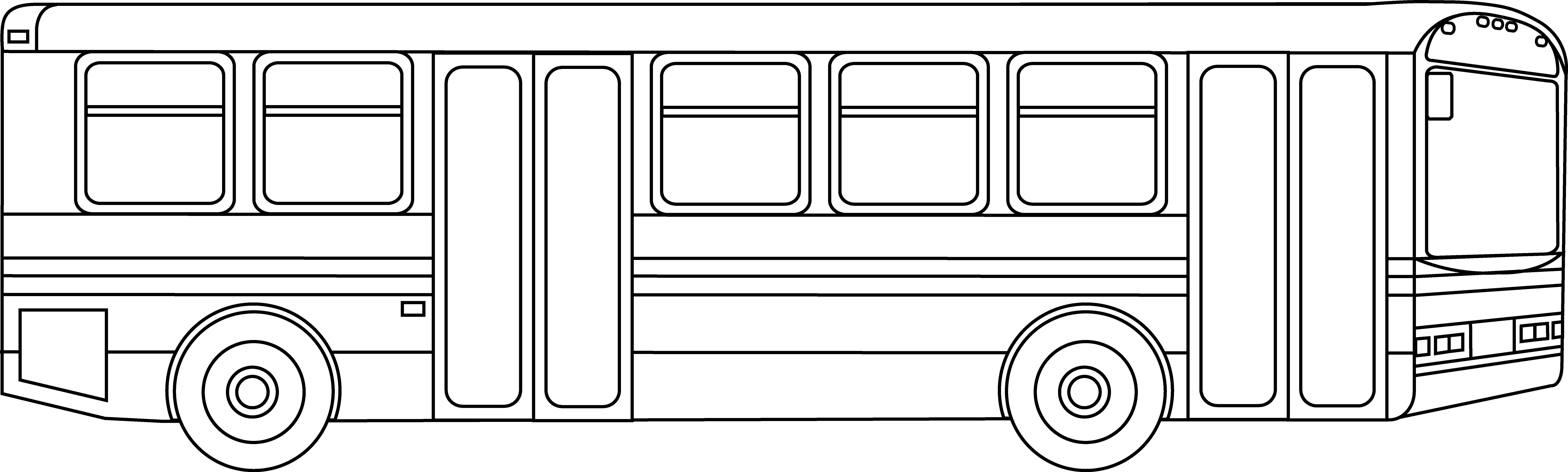 рентабельности картинка автобуса для раскрашивания дни после