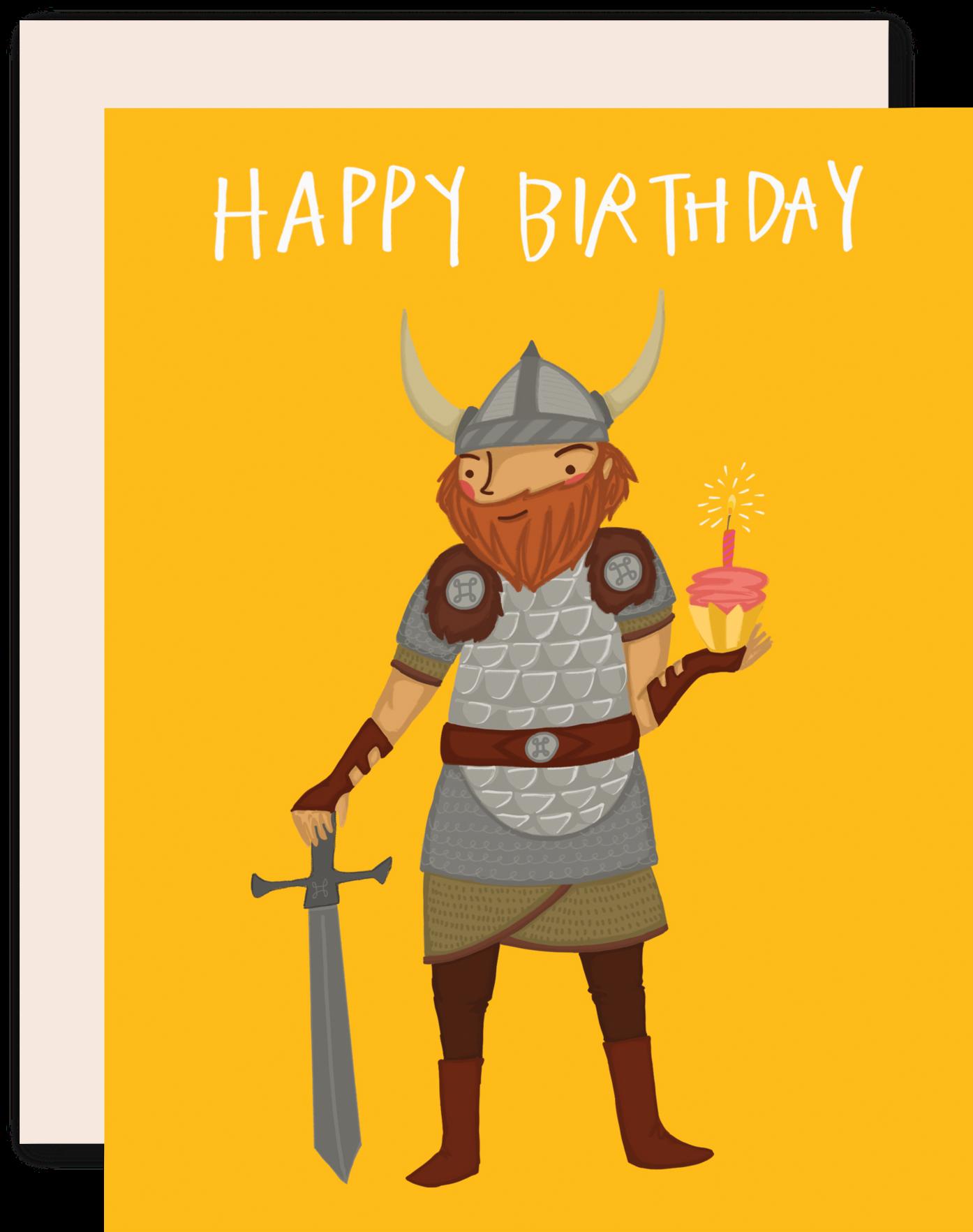 Поздравления в день рождения викинга