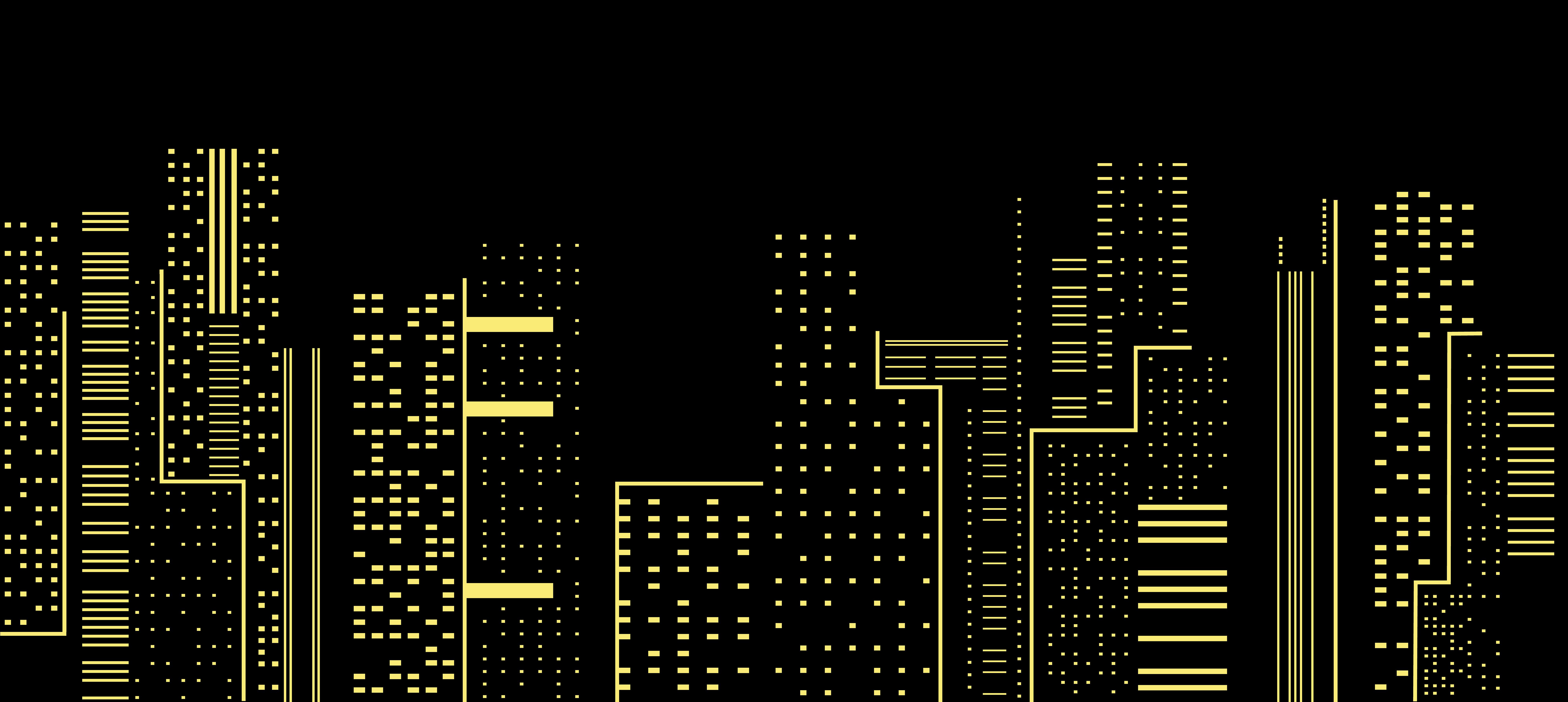 Город рисунок силуэт