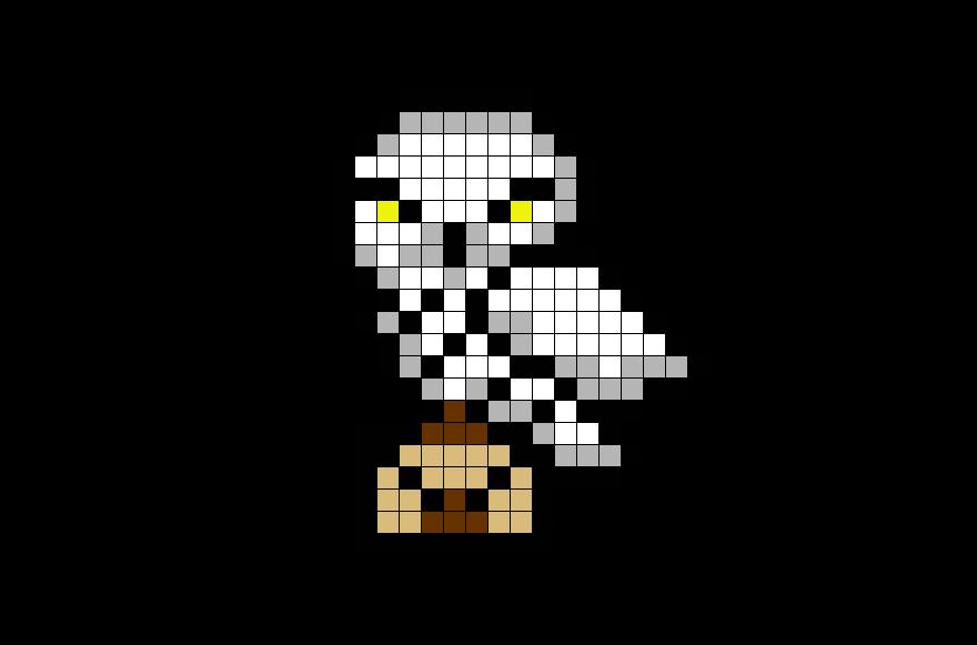 Harry Potter Dessin Pixel Full Size Png Download Seekpng