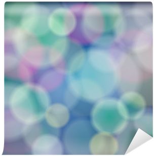 Vector Abstract Background With Bokeh Light Effects - Color | Full