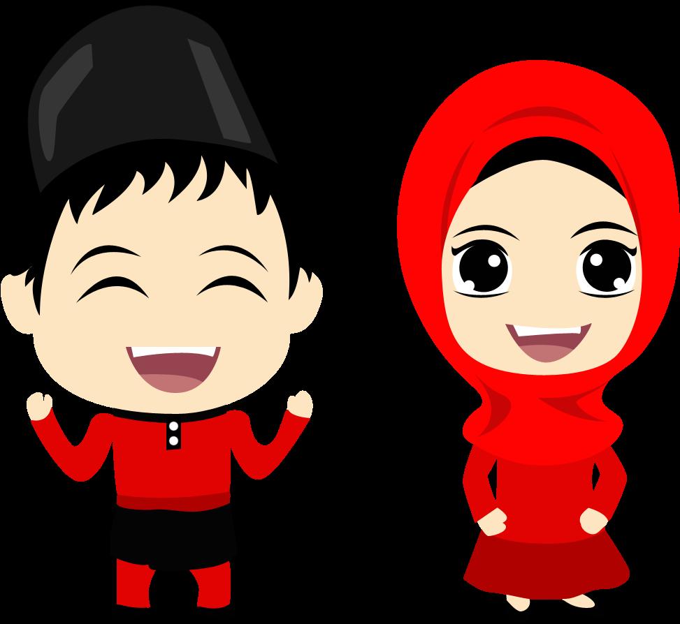Islam Clipart Islamic Education Eid Mubarak Cartoon Png Full Size Png Download Seekpng