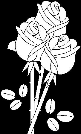 Dibujo De Un Ramo De Rosas Para Colorear Drawing Full Size Png Download Seekpng