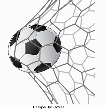 Hand Painted Football Goals Football Clipart Movement Football Full Size Png Download Seekpng