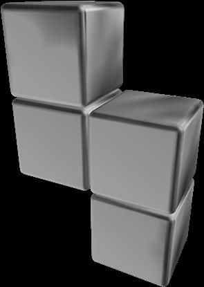 Roblox Tetris Silver Tetramino Of Accomplishment Roblox Tetris Hats Full Size Png Download Seekpng
