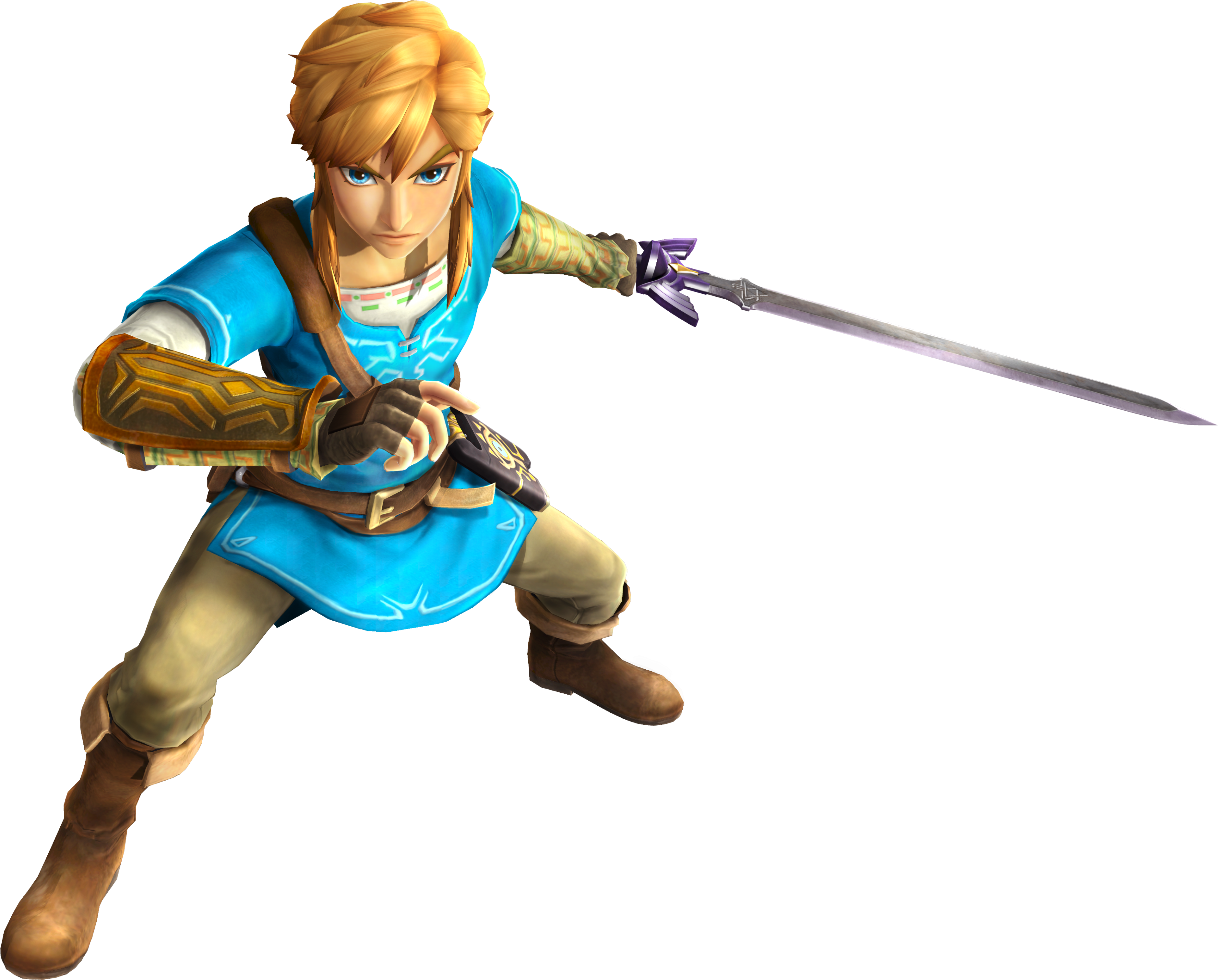 Definitive Edition Hyrule Warriors Definitive Edition Botw Link Full Size Png Download Seekpng