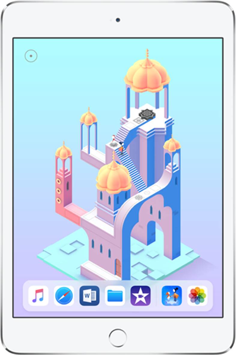 Apple Ipad Mini - Monument Valley 2 Levels   Full Size PNG Download