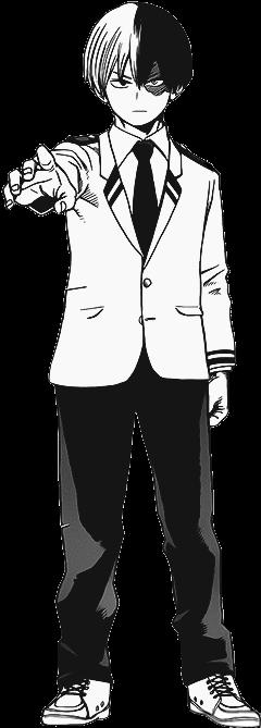Shoto Todoroki Manga Render Todoroki Shouto Manga Png