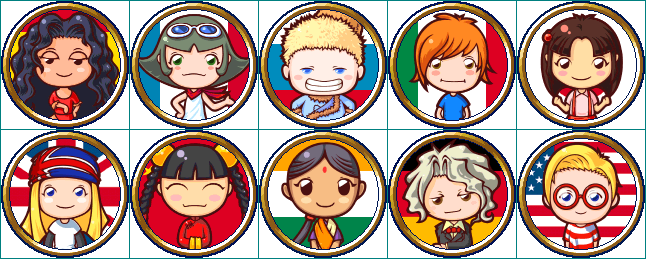 Friend Icons - Cooking Mama And Friends (646x259), Png Download