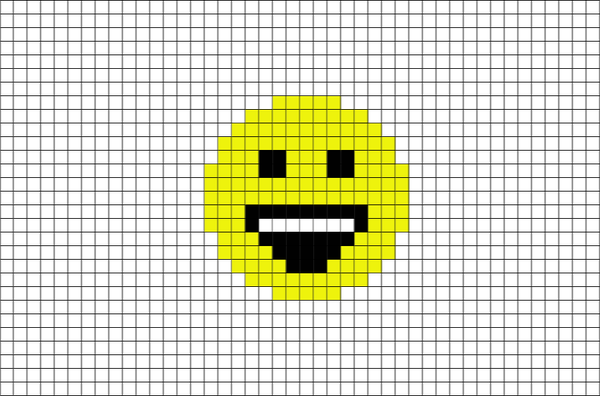 Pixel Art Emoji Facile