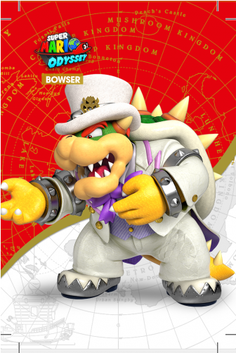 Mario Odyssey Wedding Bowser Full Size Png Download Seekpng