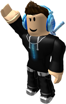 Roblox Character Png Clipart Black And White Download Roblox