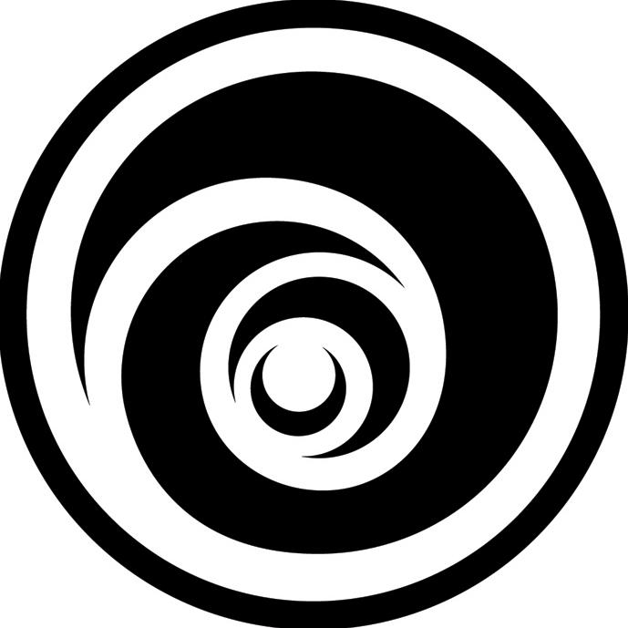 Ubisoft Ubisoft Black And White Full Size Png Download Seekpng