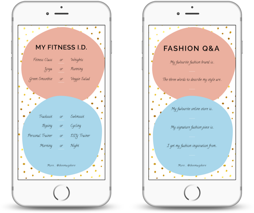 Q&a Instagram Story Template From Theemasphere - Instagram