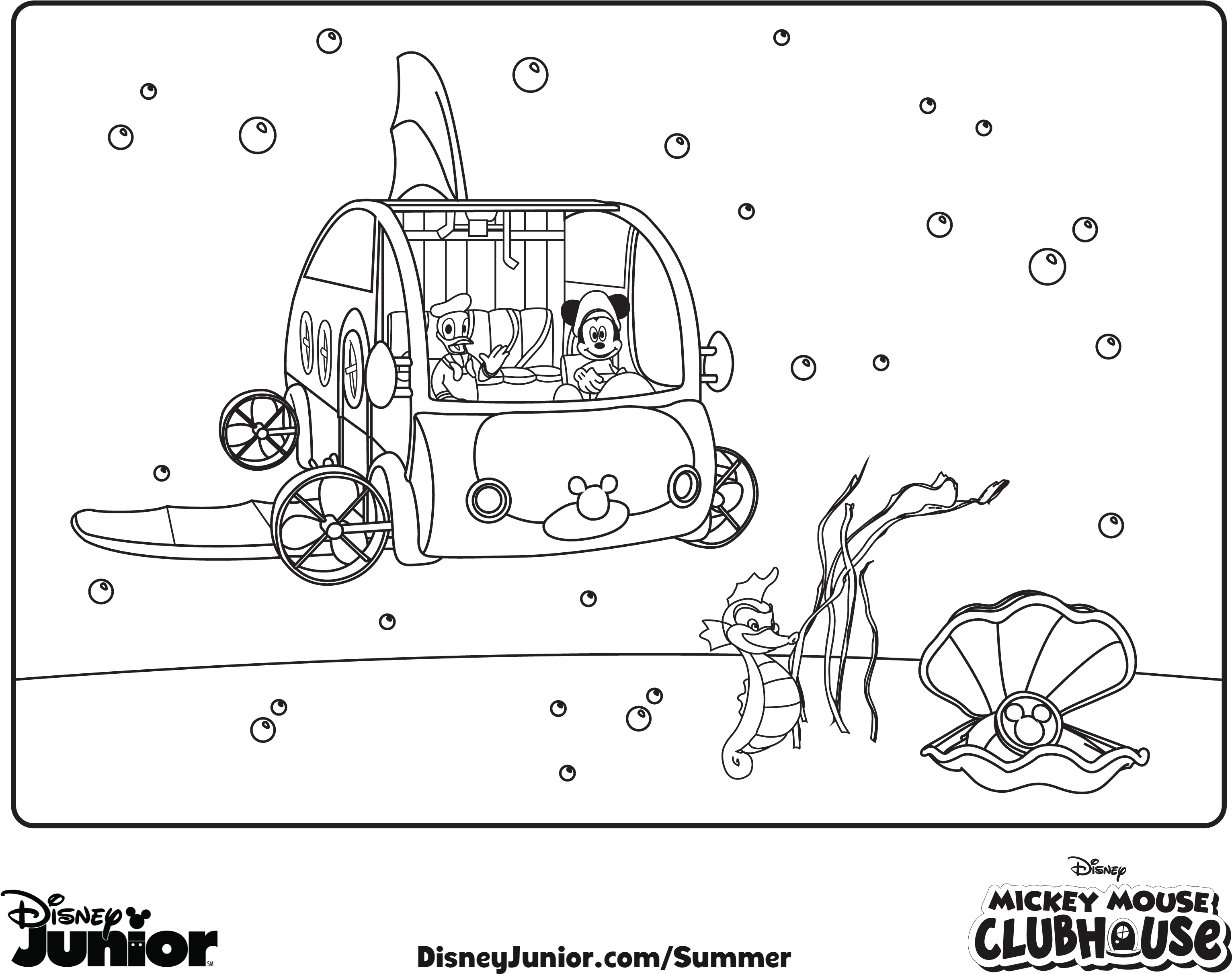 - Mouse Clubhouse Coloring Pages Mickey - Mickey Mouse Clubhouse